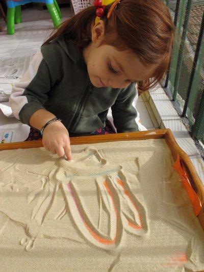 sand tray therapy and mandala application 4