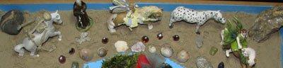 sand tray therapy and mandala application 7