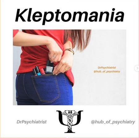 kleptomania