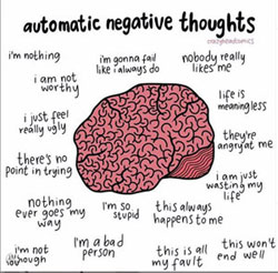 amazing 17 negative automatic thoughts list (ants) and 3 different worksheet 1