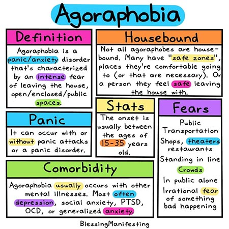 what is agoraphobia? treatment and causes 1