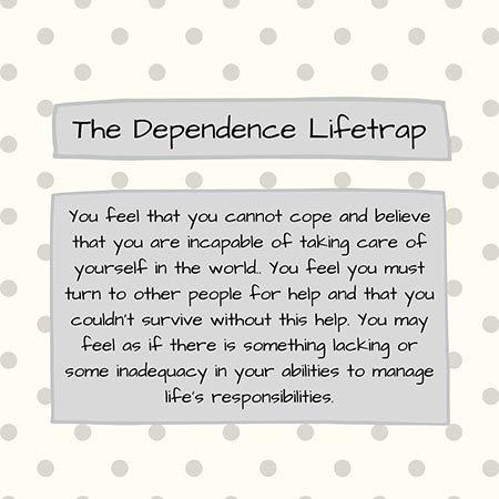 what is dependence/incompetence schema? 1