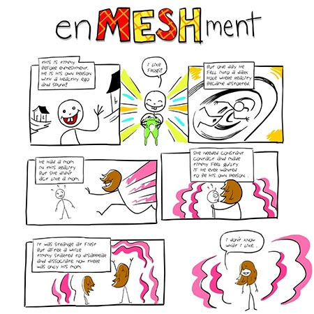 what is enmeshment / undeveloped self schema? 1