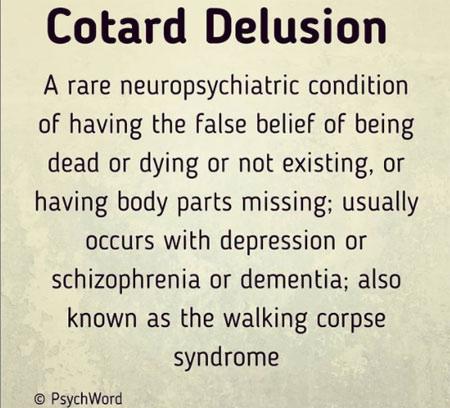 cotard delusion: hallucination of death 2